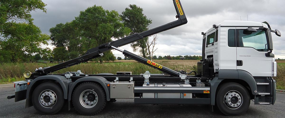 REMA Hebetechnik | Abrollkipper 1.000 bis 40.000 kg