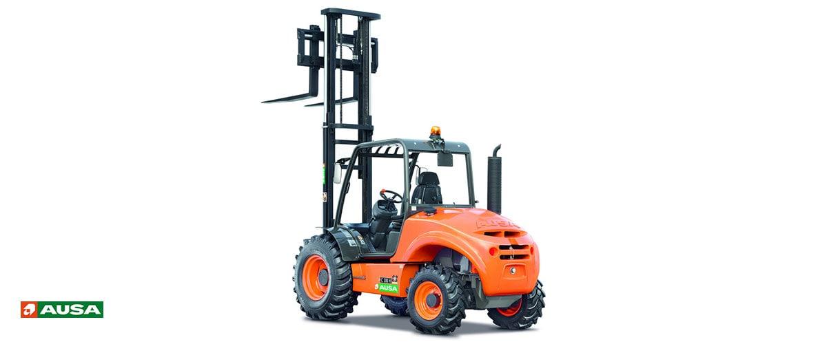 REMA Hebetechnik | AUSA Geländestapler 1.200 bis 5.000 kg