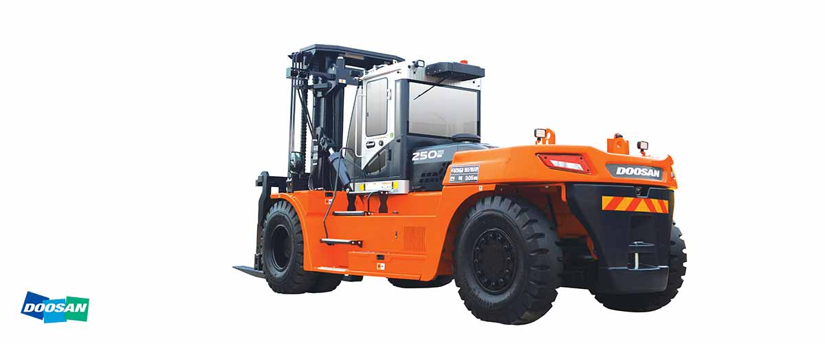 REMA Hebetechnik   Doosan Diesel Stapler Serie 9 10.000 bis 25.000 kg