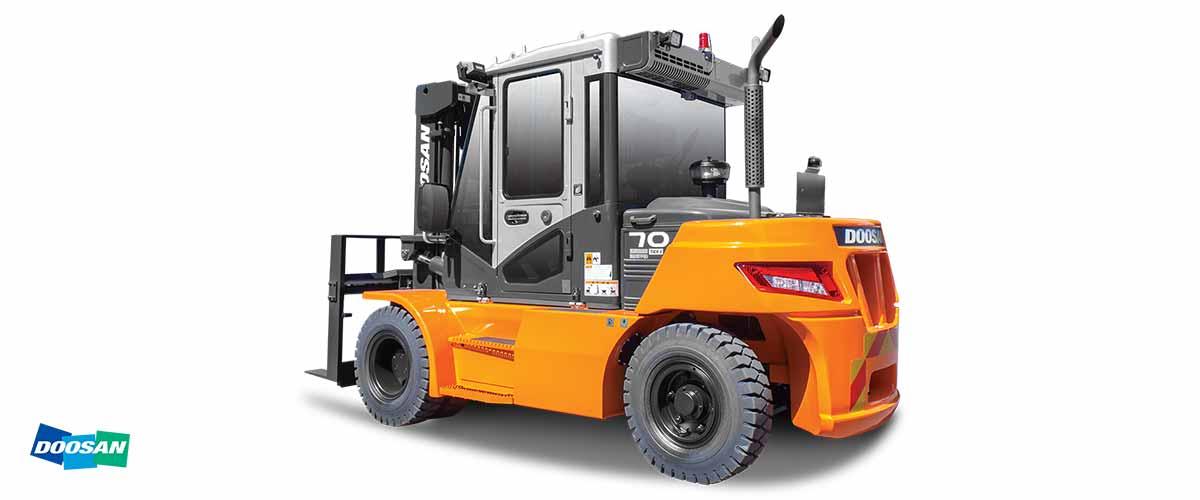 REMA Hebetechnik | Doosan Diesel Stapler Serie 9 6.000 bis 9.000 kg