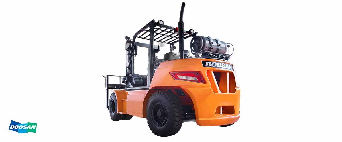 REMA Hebetechnik | Doosan Treibgas Stapler Serie 7 6.000 bis 7.000 kg